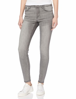 Vero Moda Women's Vmtanya Mr S Piping Jeans Vi205 Noos Skinny
