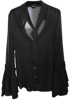 La Perla Black Silk Top for Women