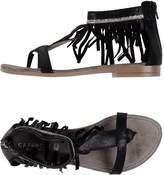 CAFe'NOIR Toe strap sandals - Item 11144697