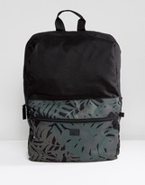 G Star G-Star Estan Backpack With Camo Print Pocket