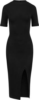 Saint Body High Neck Midi Dress