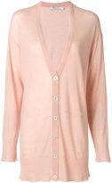 Alexander Wang deep V-neck cardigan - women - Polyester/Cashmere/Wool - S