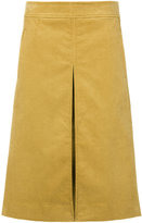 Tory Burch front slit flared skirt