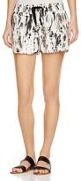 Joie Layana Tie-Dye Silk Shorts