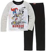 WARNER BROS Warner Bros 2-pc. Justice League Pajama Set Big Kid Boys