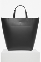 French Connection Vachetta Leather Tote Bag