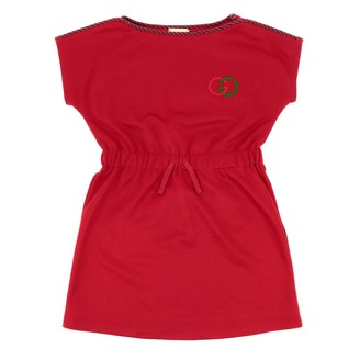 Gucci Technical Jersey Dress With Logo