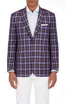 Brioni Men's Plaid Colosseo Sportcoat