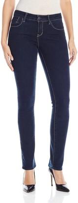 "Lola Jeans Women's Kristine 9"" Regular Rise Straight Leg Jeans"