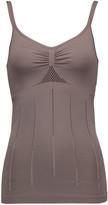 adidas by Stella McCartney Essential Seamless mesh-trimmed stretch-jersey tank