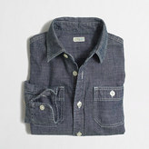 J.Crew Factory Kids' classic chambray shirt