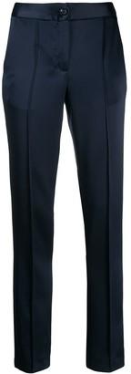 Talbot Runhof Tailored Satin Trousers