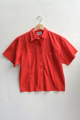 Urban Outfitters Vintage Pocketed Short Sleeve Shirt