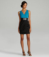 Adrianna Papell Colorblock 2-Fer Dress