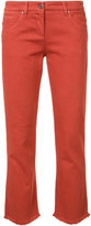 Brunello Cucinelli stretched skinny cropped jeans