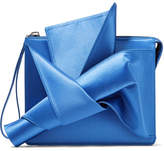 No.21 No. 21 - Knot Satin Clutch - Azure