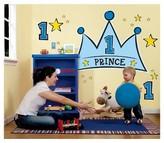 BuySeasons Lil' Prince 1st Birthday Giant Wall Decal