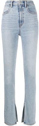 Alexander Wang Side Slits Slim Jeans