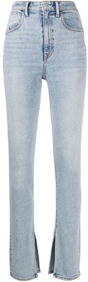 T By Alexander Wang Side Slits Slim Jeans