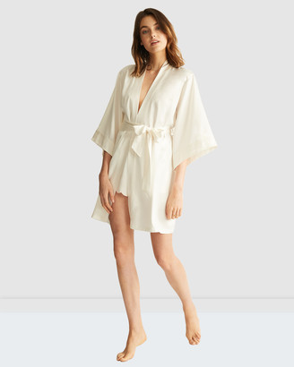 Ginia Wrap Gown