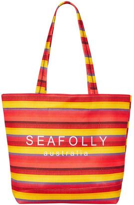 Seafolly Baja Stripe Neoprene Tote Bag