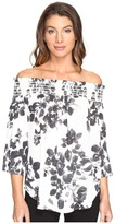 Karen Kane Off the Shoulder Top Women's Blouse