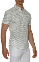 Parke & Ronen Print Stretch Slim Fit Shirt