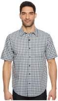 Timberland Plotline Short Sleeve Plaid Work Shirt Men's Short Sleeve Button Up