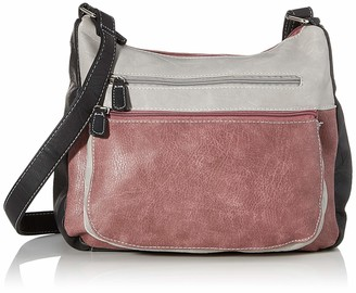 N.V. Bags Womens Millie Shoulder Bag Blue (Navy) 15x24x30 cm (W x H x L)