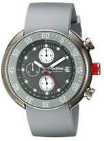 Redline Red Line RL-50038-GM-014-GY – Watch Men – Quartz Chronograph Grey Rubber Strap