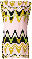 Emilio Pucci embroidered shift dress - women - Silk - 40