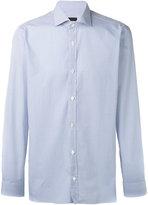 Z Zegna micro design long sleeve shirt