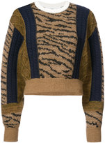 Toga tiger print sweater