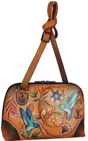 Anuschka Women's Multi Compartment Zip-Around Organize Bag