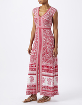Monsoon Coco Print Jersey Maxi Dress