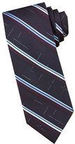 Perry Ellis Stripe Silk Tie