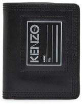Kenzo Men's Small Leather Wallet - Black