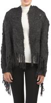 Fringed Sweater Cardigan