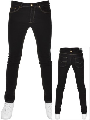 Versace Skinny Fit Jeans Black