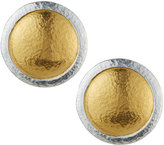 Gurhan Amulet Round Button Earrings