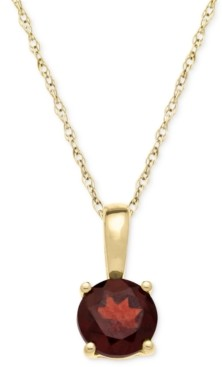 Macy's Birthstone Pendant in 14k Gold