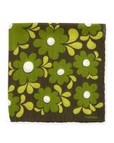 Tom Ford Large Floral-Print Pocket Square