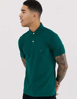 Tommy Hilfiger slim fit polo shirt-Green