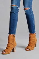 Forever 21 FOREVER 21+ Sbicca Genuine Suede Booties