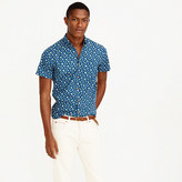 J.Crew Short-sleeve shirt in navy floral