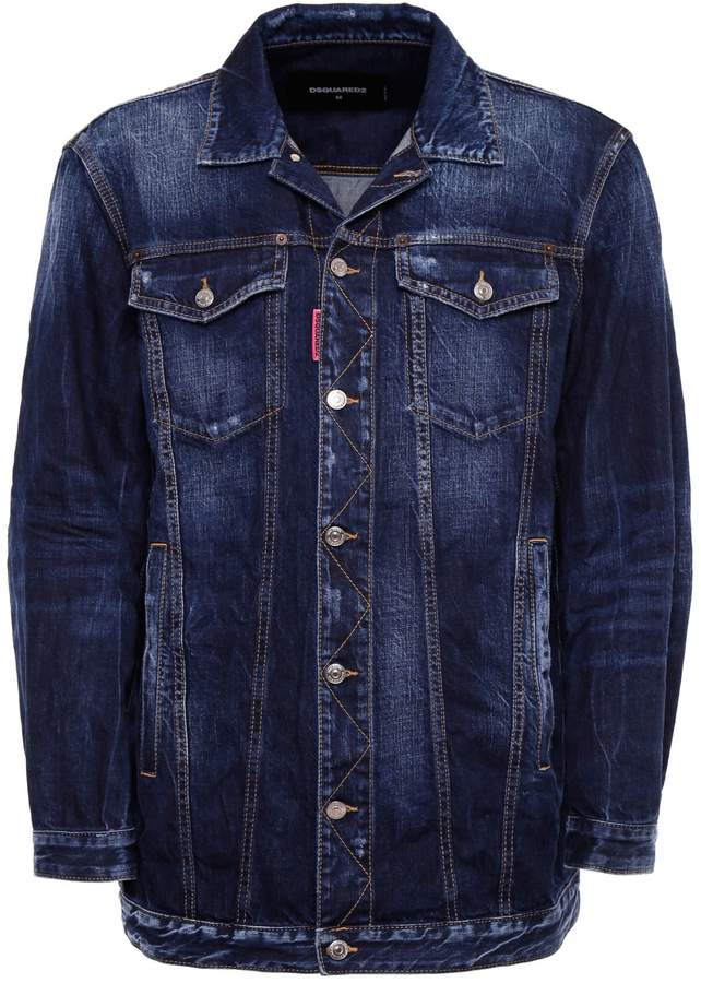 DSQUARED2 Be Cool Be Nice Denim Jacket