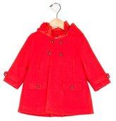 Chloé Girls' Virgin Wool Hooded Coat