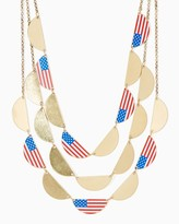 Charming charlie Americana Layer Necklace