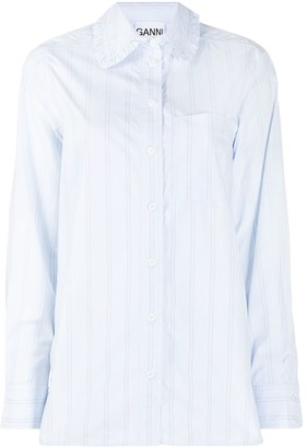 Ganni Striped Shirt