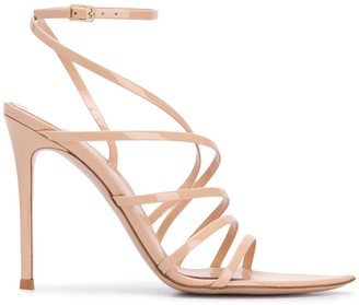 Gianvito Rossi Caged Stiletto Sandals